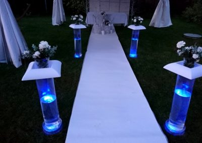 oświetlenie led w tubach
