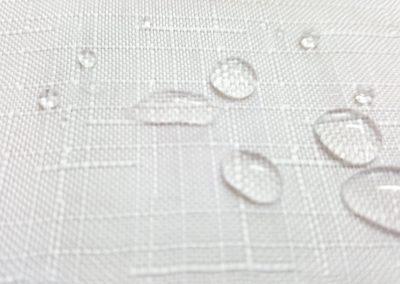 obrus deszczyk biały