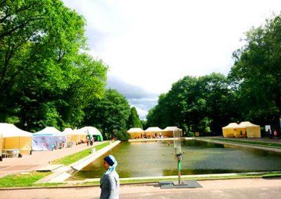 Festyn Białystok Segreguje Park Planty